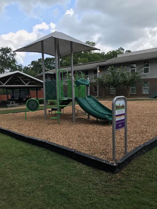 Photo of playground equipment